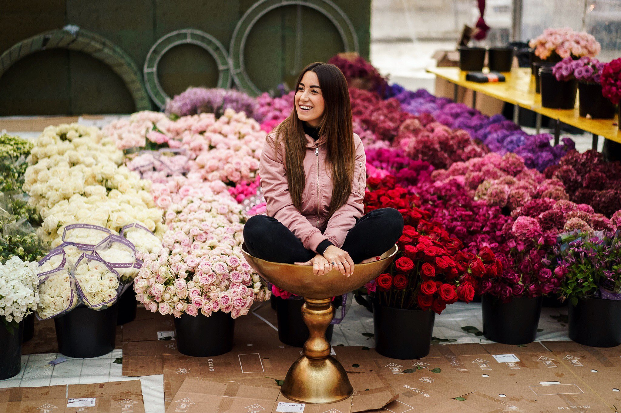 Our amazing flower supplier