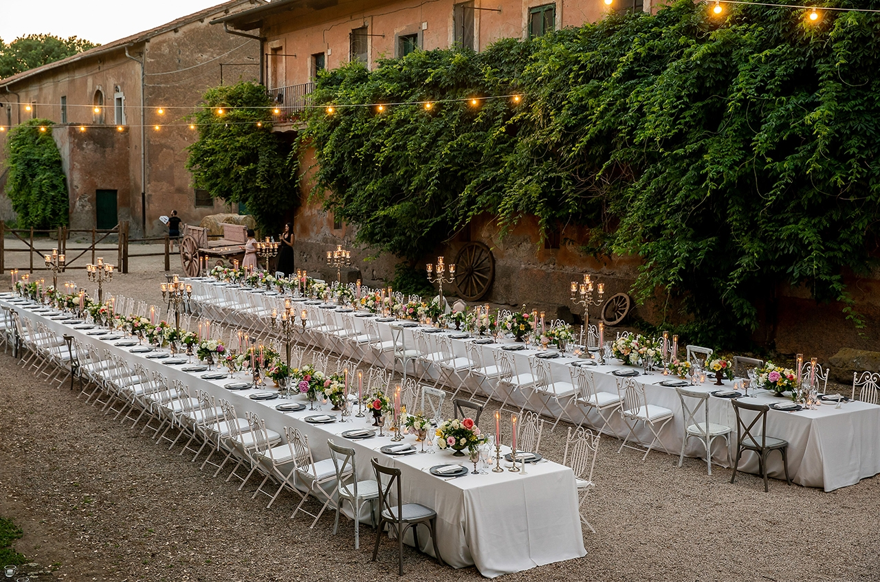 Il matrimonio country chic di Diletta e Valerio