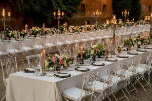 Wedding Planner Roma Allestimento Tavoli