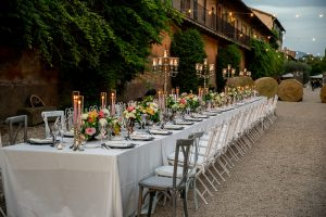 Wedding Planner Roma Tavolo Imperiale