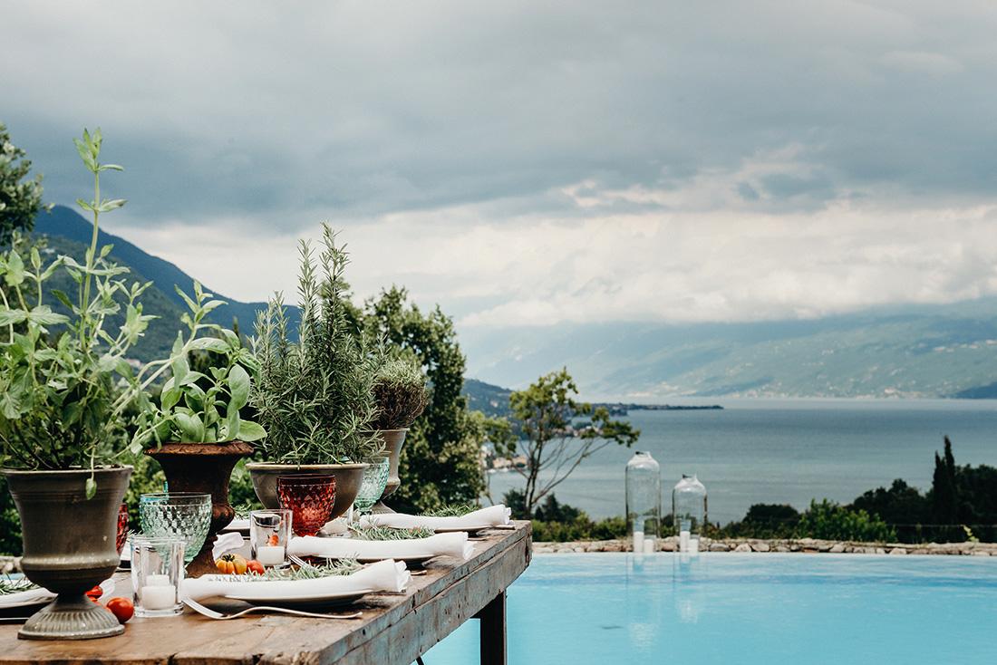 Allestimento Floreali Matrimonio Lake