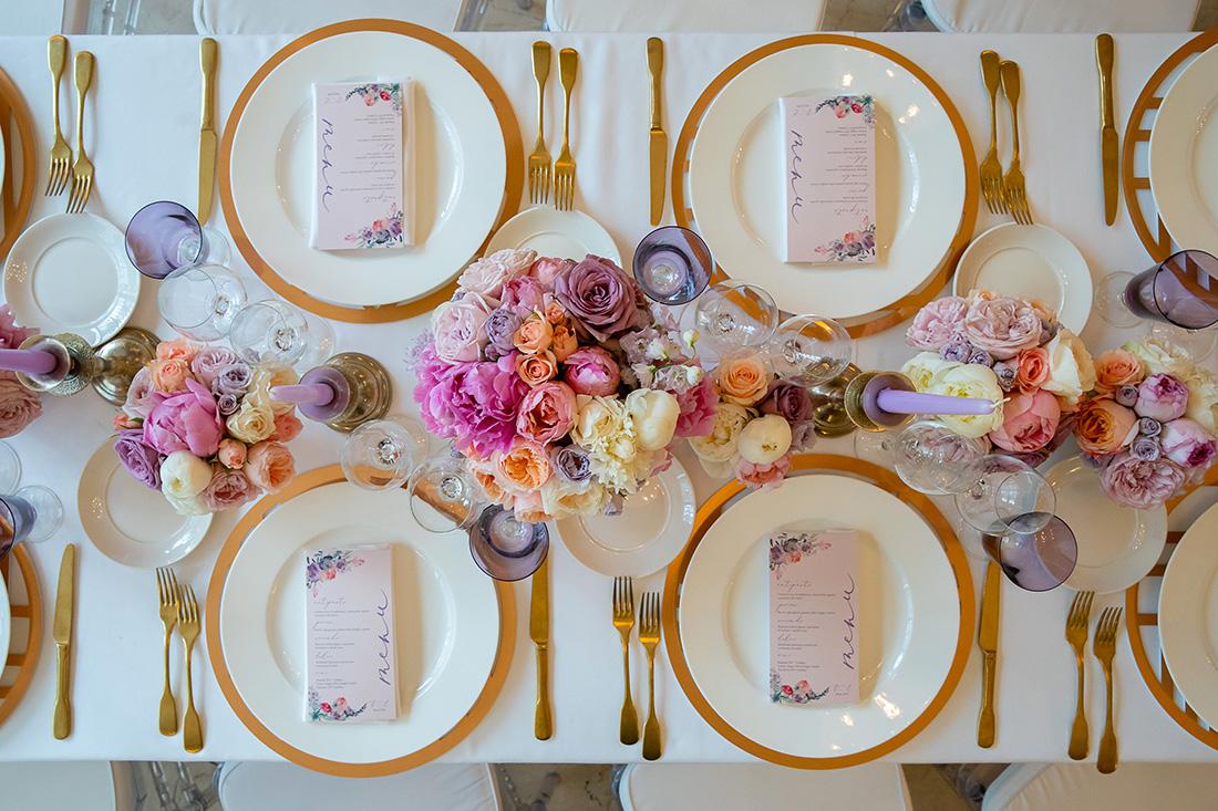 Floral Design Roma Particolare Tavolo