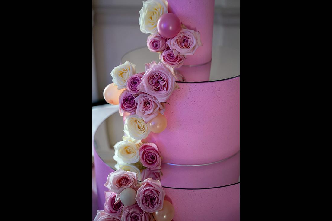 Floral Design Particolare Torta